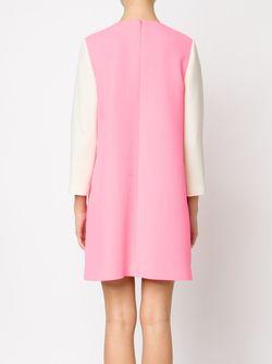 Платье Шифт Дизайна Колор-Блок Bouchra Jarrar                                                                                                              розовый цвет
