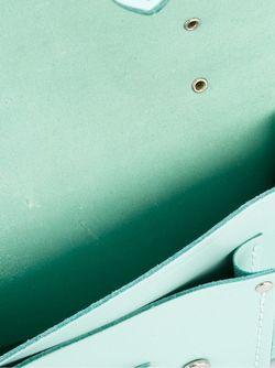 Маленькая Сумка-Сэтчел The Cambridge Satchel Company                                                                                                              зелёный цвет