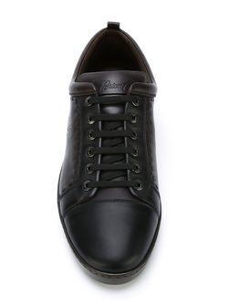 Whipstitch Sneakers Brioni                                                                                                              коричневый цвет