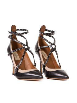 Туфли С Ремешками Valentino Garavani                                                                                                              чёрный цвет