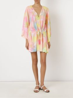 Abstract Print Beach Dress SKINBIQUINI                                                                                                              многоцветный цвет