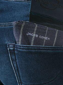 Джинсы С Платком В Заднем Кармане Jacob Cohёn                                                                                                              синий цвет