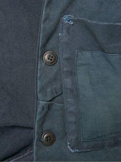 Куртка Единственного Экземпляра GREG LAUREN                                                                                                              синий цвет