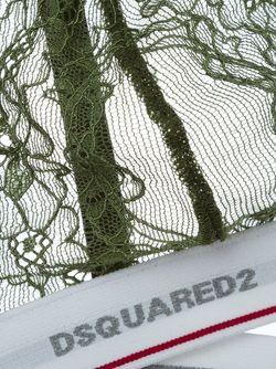 Треугольный Бюстгальтер Dsquared2                                                                                                              зелёный цвет