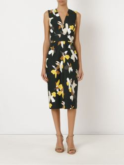 Midi Sheath Dress ANDREA MARQUES                                                                                                              чёрный цвет