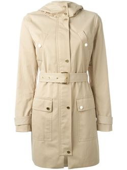 Belted Trench Coat Michael Michael Kors                                                                                                              Nude & Neutrals цвет