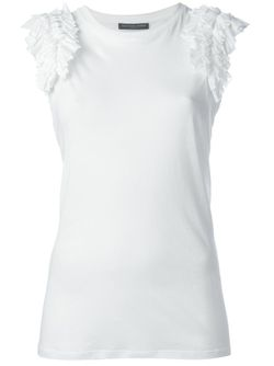 Pleated Panel Top Alexander McQueen                                                                                                              белый цвет
