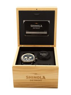 Часы The Runwell Chrono SHINOLA                                                                                                              синий цвет