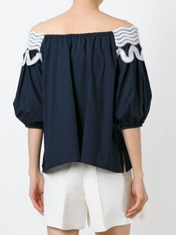 Pallas Blouse Peter Pilotto                                                                                                              синий цвет