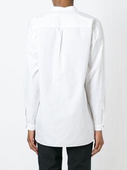 V-Neck Longsleeved Blouse Rag & Bone/Jean                                                                                                              белый цвет