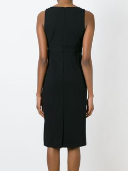 Fitted V Neck Dress Theory                                                                                                              чёрный цвет