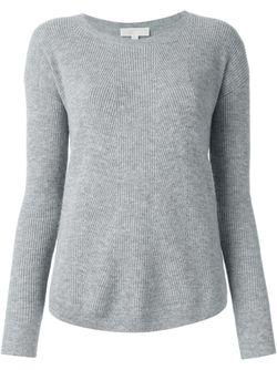 Scoop Neck Sweater Michael Michael Kors                                                                                                              серый цвет