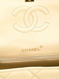 Двухцветная Сумка Через Плечо Chanel Vintage                                                                                                              многоцветный цвет