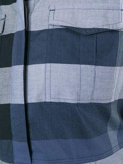 Checked Shirt Dress Burberry Brit                                                                                                              синий цвет