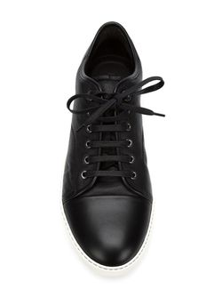 Classic Lace-Up Sneakers Lanvin                                                                                                              чёрный цвет