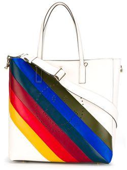 Rainbow Tote Anya Hindmarch                                                                                                              белый цвет