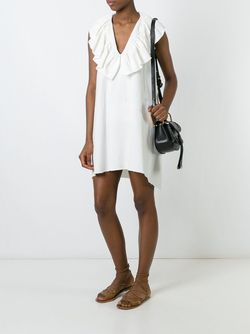 Платье С Рюшами Chloe                                                                                                              Nude & Neutrals цвет
