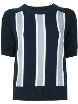 Vertical Stripe Sweater Michael Michael Kors                                                                                                              синий цвет