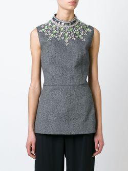 Декорированный Топ Marni                                                                                                              серый цвет