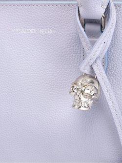 Маленькая Сумка-Тоут Padlock Alexander McQueen                                                                                                              розовый цвет