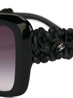 Солнцезащитные Очки Camelia Special Chanel Vintage                                                                                                              черный цвет