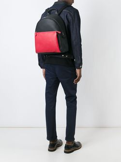 Двухцветный Рюкзак Fendi                                                                                                              чёрный цвет