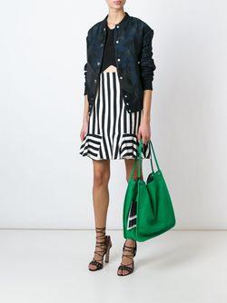 Tassel Detail Shopper Tote Proenza Schouler                                                                                                              зелёный цвет