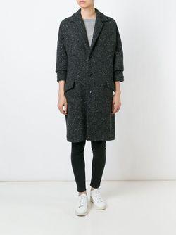 Однобортное Пальто ARTS & SCIENCE                                                                                                              серый цвет