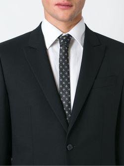 Жаккардовый Галстук С Цветочным Узором Dolce & Gabbana                                                                                                              чёрный цвет