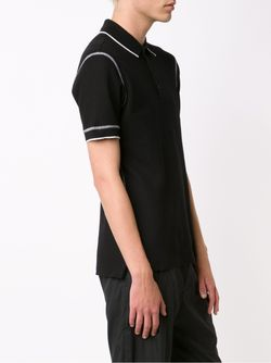 Seam Detail Polo Shirt Givenchy                                                                                                              чёрный цвет