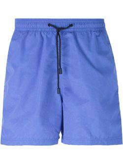Шорты Для Плавания С Принтом Пейсли Etro                                                                                                              синий цвет