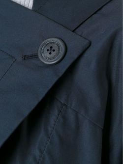 Пальто Асимметричного Кроя Vivienne Westwood Anglomania                                                                                                              синий цвет