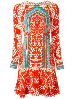 Платье Tishka Temperley London                                                                                                              красный цвет
