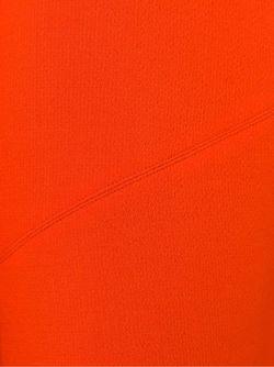 Расклешенная Мини-Юбка Victoria, Victoria Beckham                                                                                                              желтый цвет