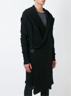 Толстовка С Запахом LOST AND FOUND                                                                                                              черный цвет