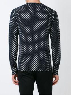 Свитер В Горошек Dolce & Gabbana                                                                                                              черный цвет