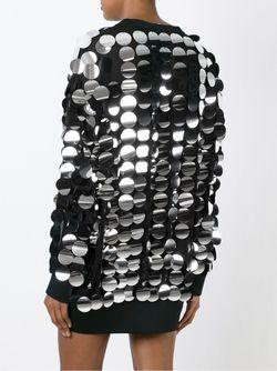 Платье-Толстовка С Пайетками Mcq Alexander Mcqueen                                                                                                              черный цвет