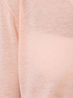 Свитер C V-Образным Вырезом Forte Forte                                                                                                              розовый цвет
