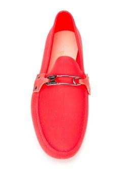 Лоферы С Деталью В Виде Булавки Vivienne Westwood                                                                                                              красный цвет