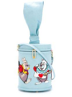 Rabbit Shoulder Bag Olympia Le-Tan                                                                                                              синий цвет