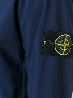 Спортивная Куртка На Молнии Stone Island                                                                                                              синий цвет