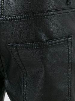 Брюки Прямого Кроя Saint Laurent                                                                                                              черный цвет