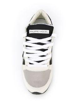 Кроссовки С Панельным Дизайном Philippe Model                                                                                                              черный цвет