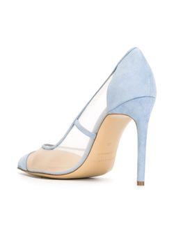 Туфли С Сетчатой Вставкой Bionda Castana                                                                                                              синий цвет