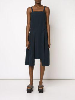 Платье С Плиссировкой ALEXANDRE PLOKHOV                                                                                                              синий цвет
