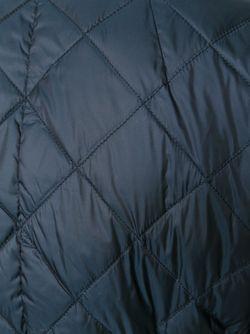 Двухсторонний Пуховик С Поясом 'S Max Mara                                                                                                              синий цвет