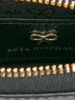 Кошелек Для Монет Eyes Anya Hindmarch                                                                                                              чёрный цвет