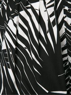 Шорты С Растительным Принтом Marc Jacobs                                                                                                              черный цвет