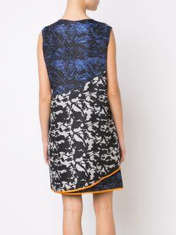 Мини-Платье С Комбинированным Принтом Zero + Maria Cornejo                                                                                                              черный цвет