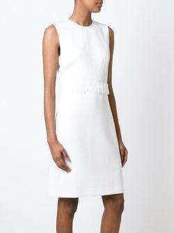 Платье-Шифт С Поясом 3.1 Phillip Lim                                                                                                              белый цвет